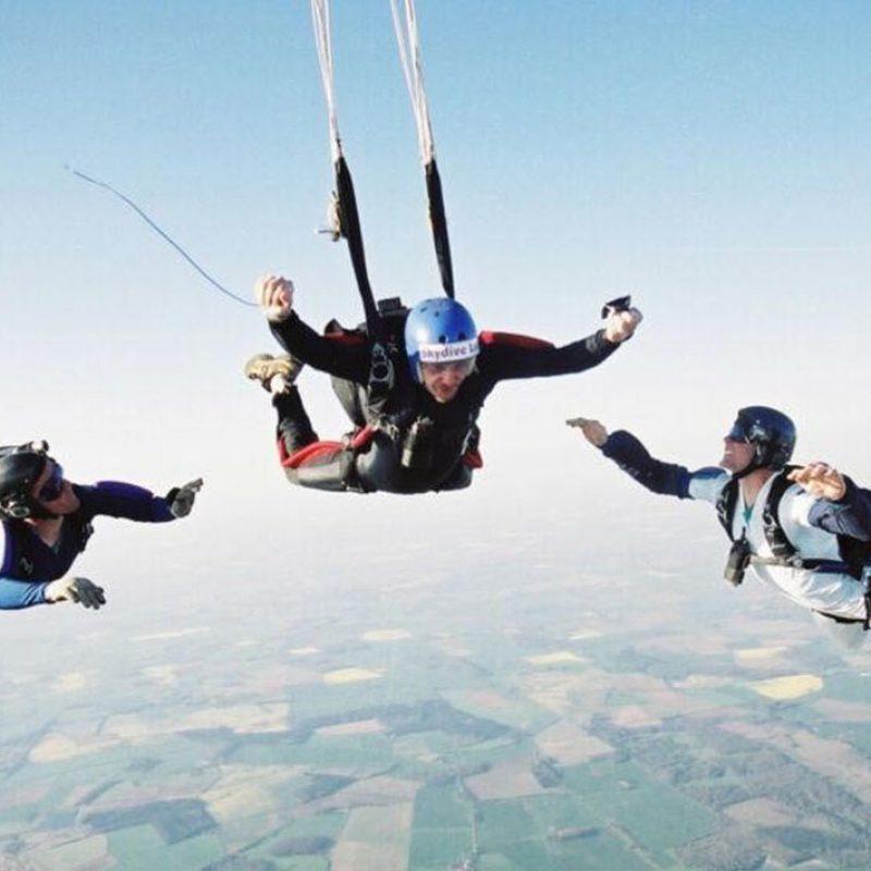 Icarus Skydiving School - Slider New